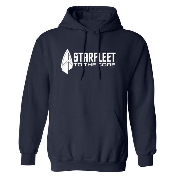 Star Trek: Picard Starfleet to the Core Hooded Sweatshirt