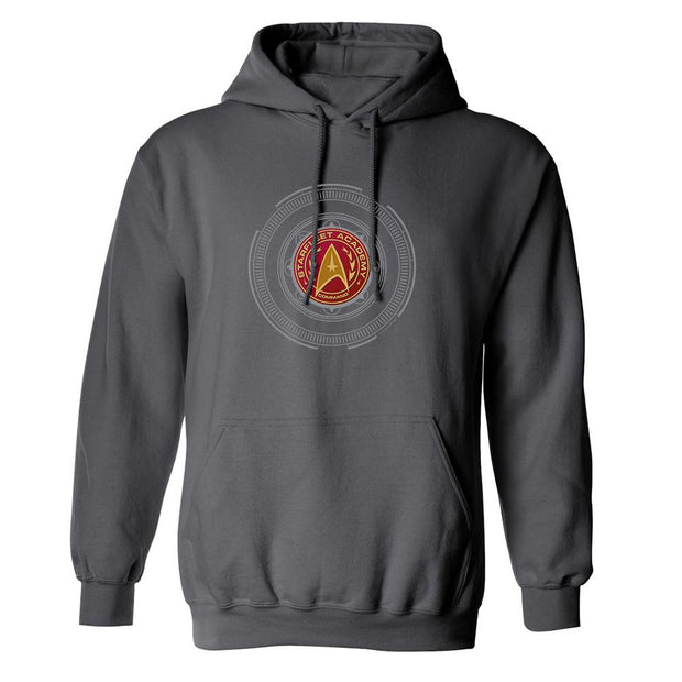 Star Trek: Starfleet Academy Command Badge Fleece Hooded Sweatshirt