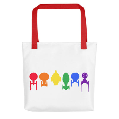 Star Trek Ships of the Line Pride Premium Tote Bag