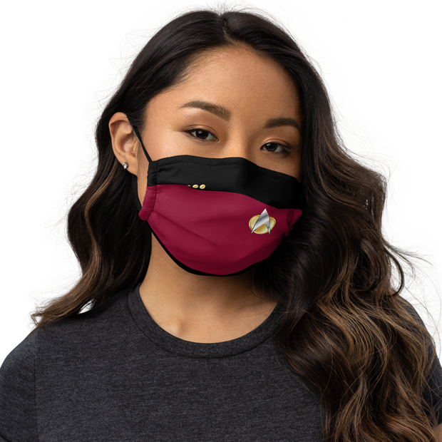 Star Trek: The Next Generation TNG Command Premium Face Mask