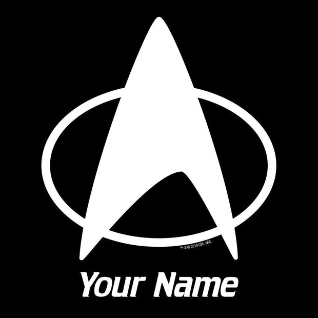 Star Trek: The Next Generation Delta Personalized Adult Short Sleeve T-Shirt