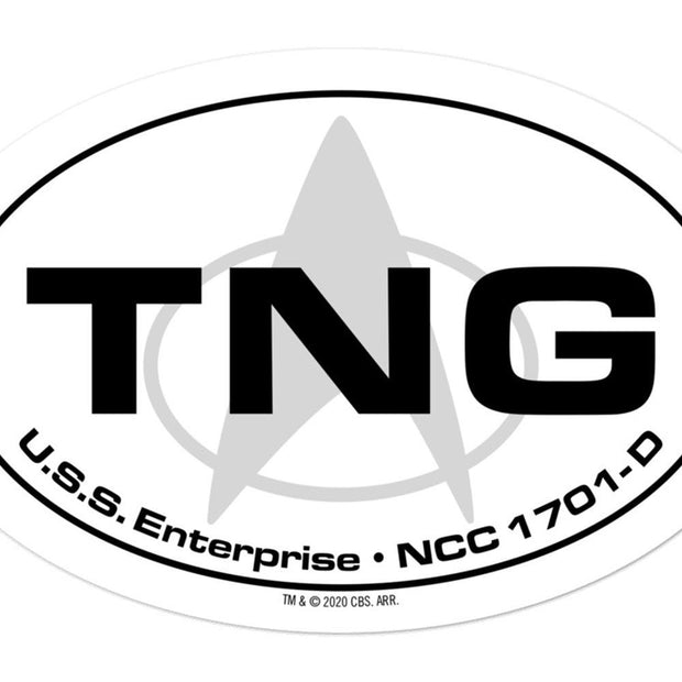 Star Trek: The Next Generation Location Die Cut Sticker