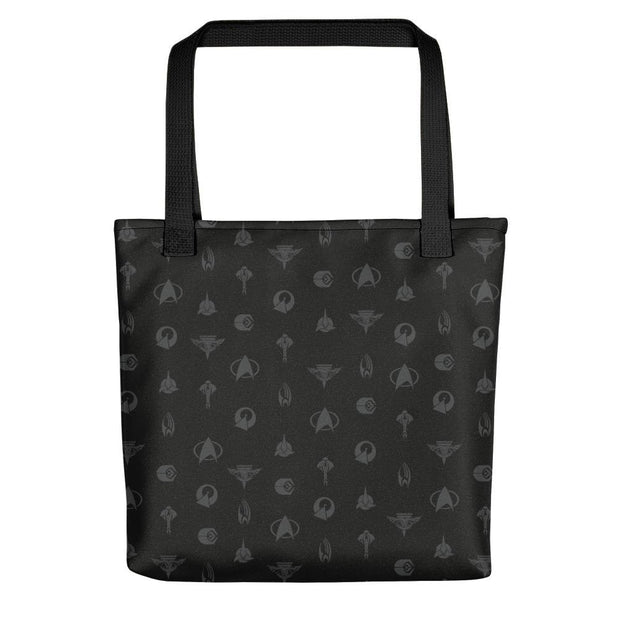Star Trek: The Next Generation Emblems Premium Tote Bag