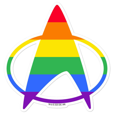 Star Trek: The Next Generation Pride Delta Die Cut Sticker