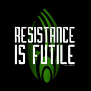 Star Trek: The Next Generation Resistance is Futile Adult Short Sleeve T-Shirt