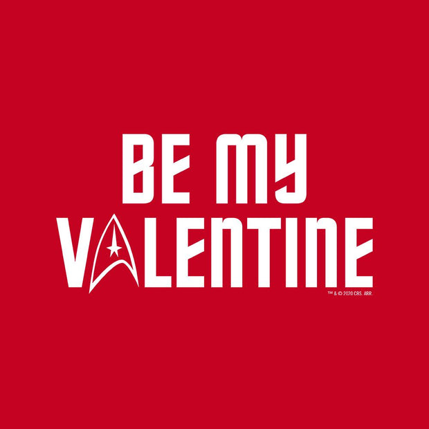 Star Trek: The Original Series Be My Valentine Adult Short Sleeve T-Shirt