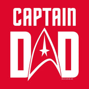 Star Trek: The Original Series Captain Dad Adult Short Sleeve T-Shirt