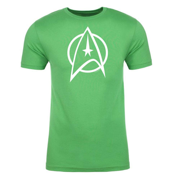 Star Trek: The Original Series Delta St. Patrick's Day Adult Short Sleeve T-Shirt