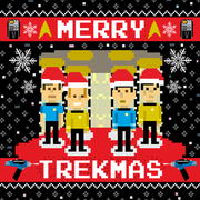 Star Trek: The Original Series Merry Trekmas Black Mug