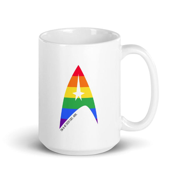 Star Trek: The Original Series Pride Delta White Mug