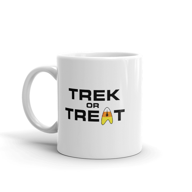 Star Trek: The Original Series Trek or Treat White Mug