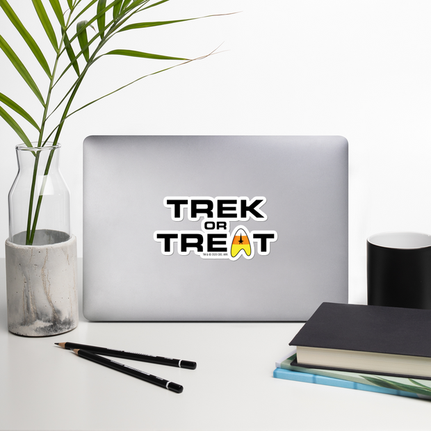 Star Trek: The Original Series Trek or Treat Die Cut Sticker