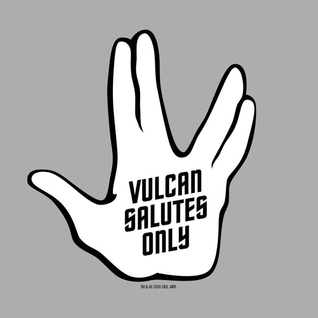 Star Trek: The Original Series Vulcan Salutes Only Adult Short Sleeve T-Shirt