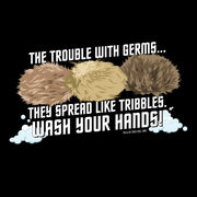 Star Trek: The Original Series Wash Your Hands Tribbles Adult Short Sleeve T-Shirt