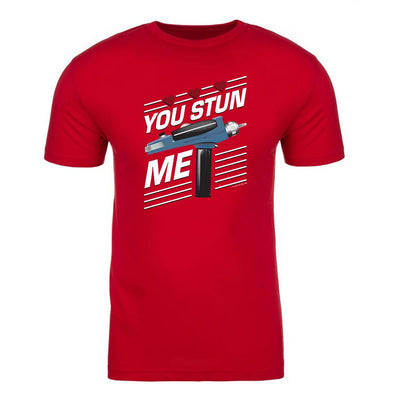 Star Trek: The Original Series You Stun Me Adult Short Sleeve T-Shirt