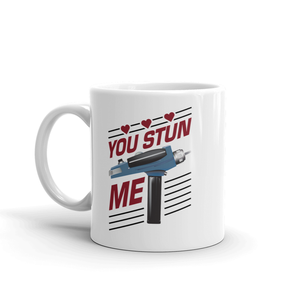 Star Trek: The Original Series You Stun Me White Mug