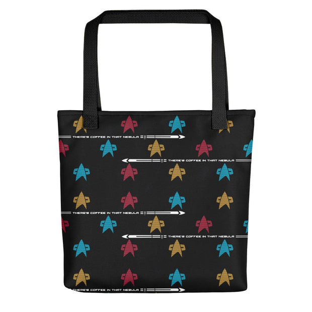 Star Trek: Voyager Coffee in that Nebula Premium Tote Bag