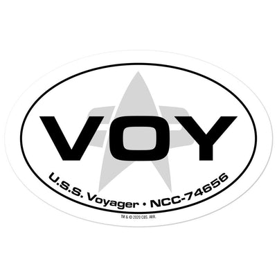 Star Trek: Voyager Location Die Cut Sticker