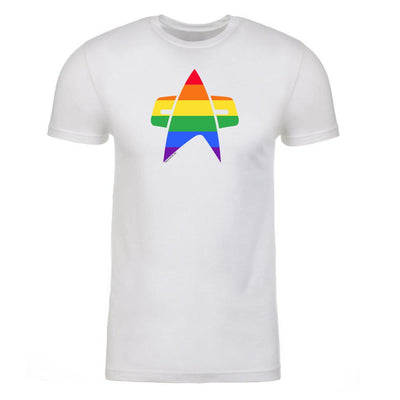 Star Trek: Voyager Pride Delta Adult Short Sleeve T-Shirt