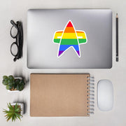 Star Trek: Voyager Pride Delta Die Cut Sticker