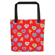Star Trek Valentine's Day Hearts Premium Tote Bag