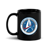 Star Trek: Discovery Starfleet Command Black Mug
