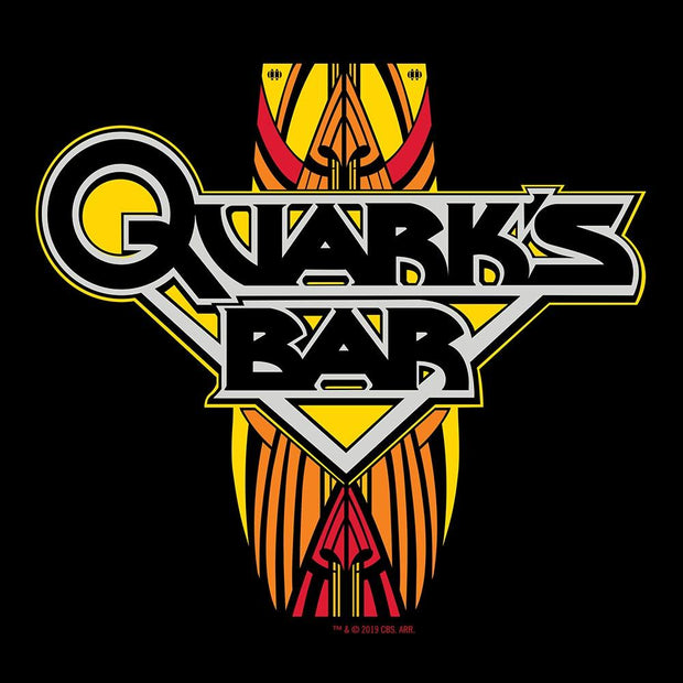 Star Trek: Deep Space 9 Quark's Bar Vintage Logo Adult Short Sleeve T-Shirt