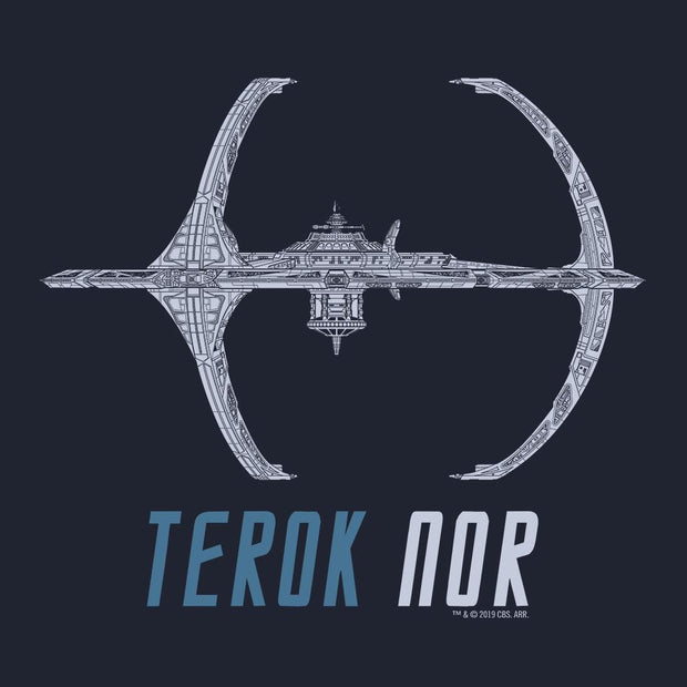 Star Trek: Deep Space 9 Terok Nor Adult Short Sleeve T-Shirt
