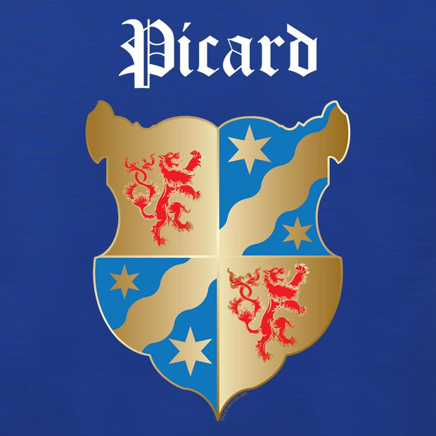 Star Trek: Picard Coat of Arms Adult Short Sleeve T-Shirt