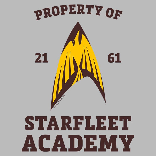 Starfleet Academy Flying Phoenix Delta Fleece Hooded Sweatshirt