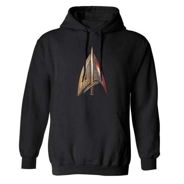 Star Trek: The Next Generation Mirror Universe Terran Empire Delta Fleece Hooded Sweatshirt