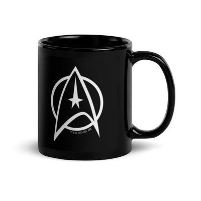 Star Trek: The Original Series Delta Black Mug