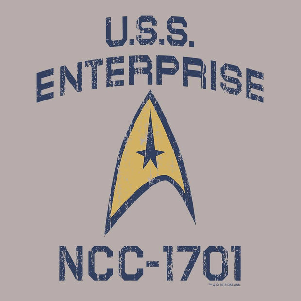 Star Trek: The Original Series Enterprise Delta Adult Short Sleeve T-Shirt