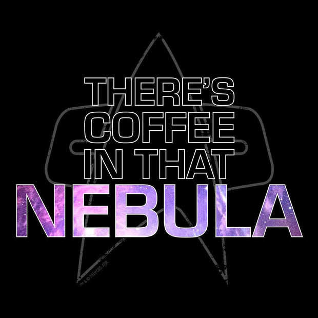 Star Trek: Voyager Coffee In That Nebula Adult Short Sleeve T-Shirt