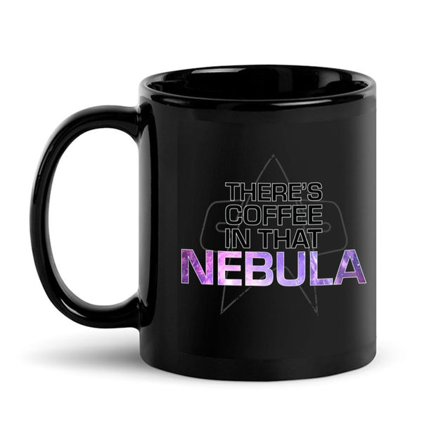 Star Trek: Voyager Coffee In That Nebula Black Mug