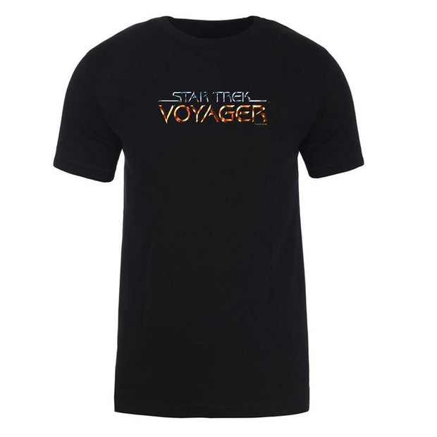 Star Trek: Voyager Logo Adult Short Sleeve T-Shirt