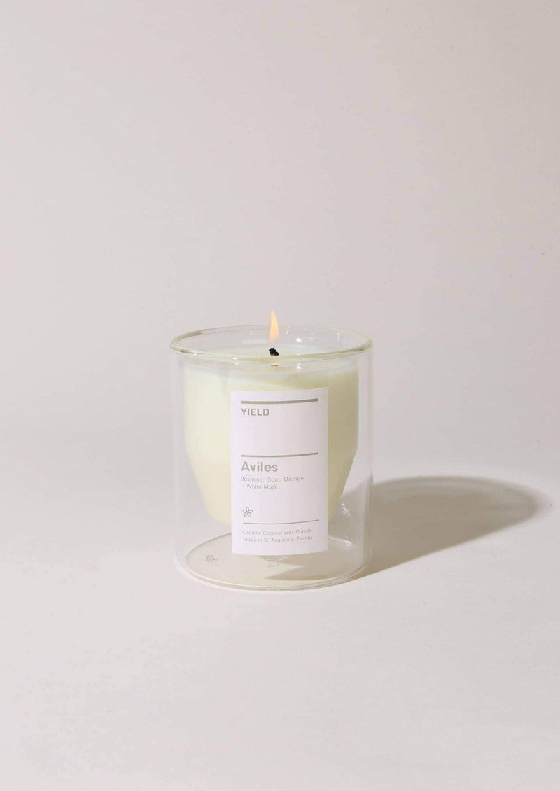 Avilés Double-Wall Candle || Jasmine, Blood Orange + White Musk