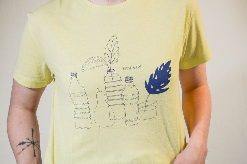 Re-use and Love Upcycled Tee