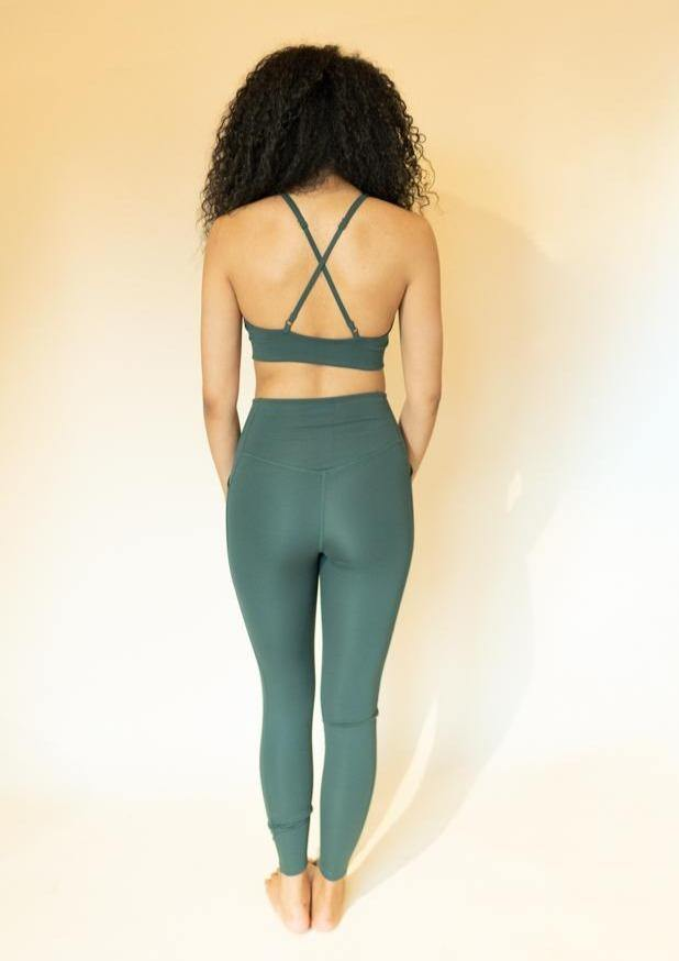 Moss High-Rise Pocket Legging