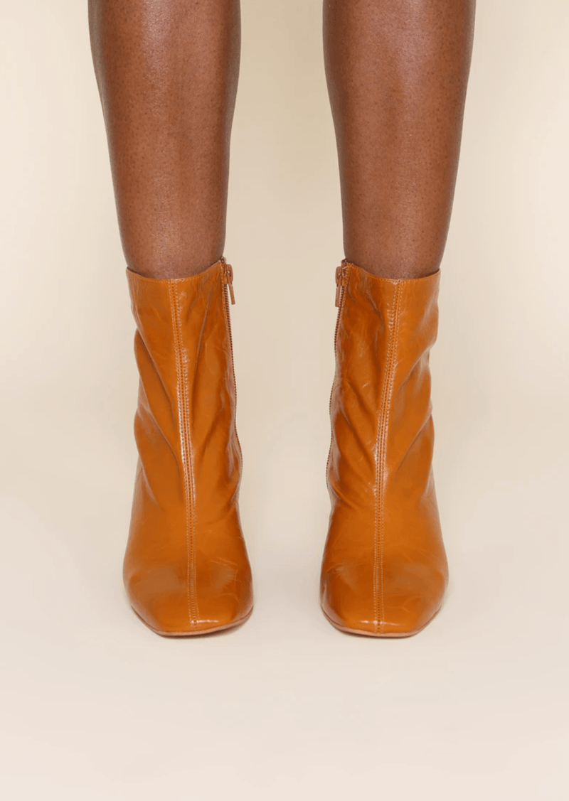 Etta Whiskey Crinkle Boot