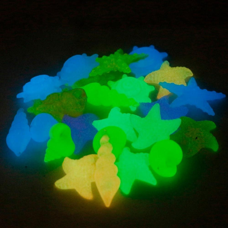 Aquarium glow in the dark pebbles Pets ThinkThingz