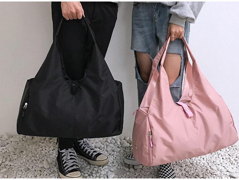 Gym bag with space for shoes and yoga mat Gym ThinkThingz