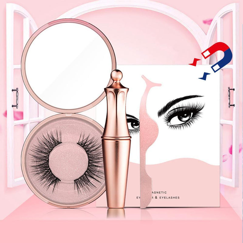 Magnetic eyelashes & eyeliner no glue needed Beauty ThinkThingz