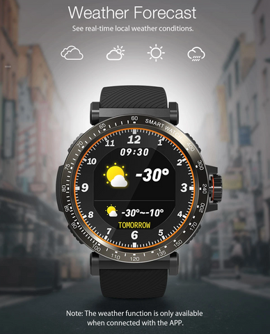 weather tracking watch