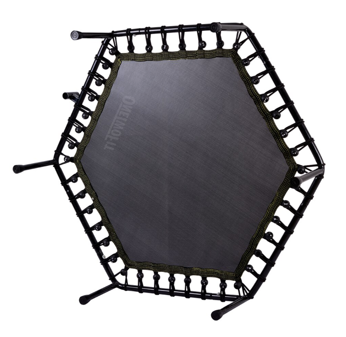 OneTwoFit Silent Springless Mini Exercise Trampoline For Adults Indoors