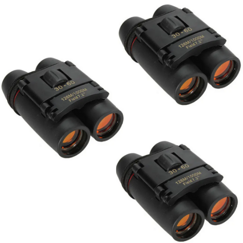 TopEagle™ Binoculars For Sale For Birding, Compact Size, Kids, Hunting, Low Light, Opera, Small 30X60 With Case