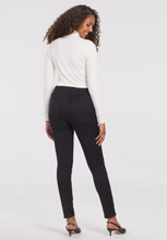 Load image into Gallery viewer, Sophia Black High Rise Curvy Fit Jegging