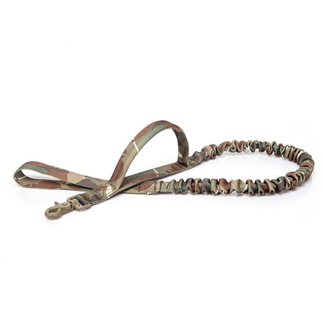 Tactical Bungee Dog Leash with Quick Release