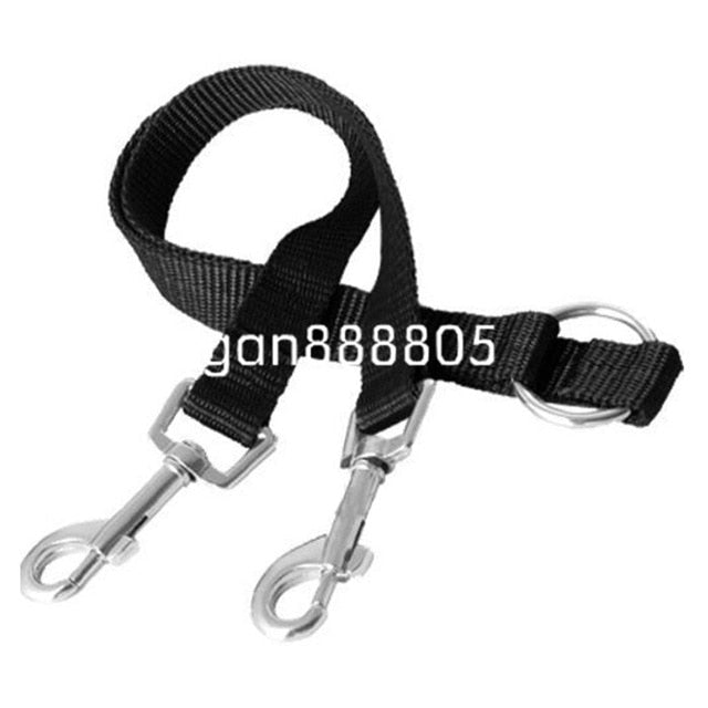 Double  DOGS Leash