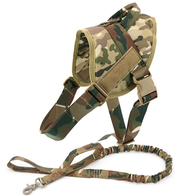 Working Dog Training Harness with Handle.